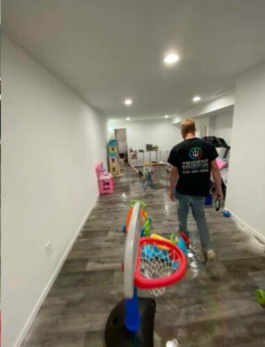 Basement Flood Cleanup
