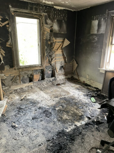 Fire and Soot Damage