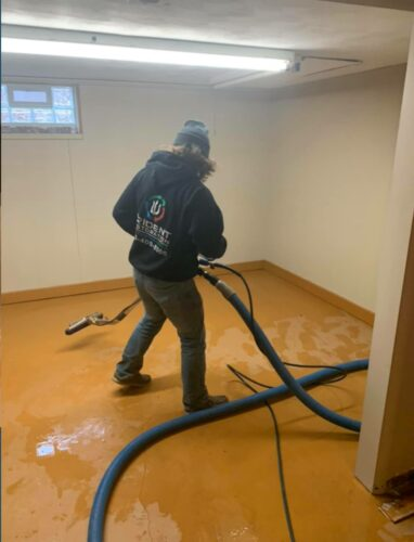 Sump Pump Sewage Cleanup
